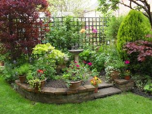 large garden bed
